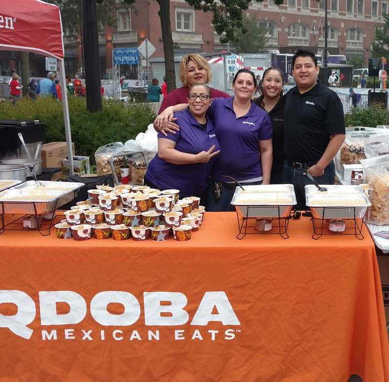 Qdoba Wisconsin Catering