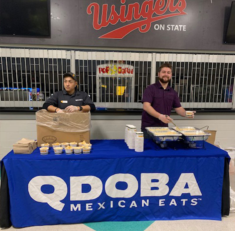 Qdoba Wisconsin Catering Team